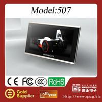 Portable Car GPS Navigator + 5 Inch Touch Screen + Bluetooth + Media + Games