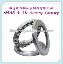 Brass cage high quality Thrust ball bearing 51326