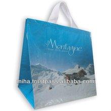 new pp woven shopping for advertising promotion Custom Advertising