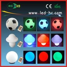 romantic party/club/night bar multicolor 1W/2W Brazil World Cup Football mood portable light/lamp wireless