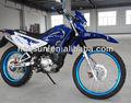 cromo azul bici de la suciedad con yamaha motor 150cc