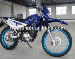 blue chrome dirt bike with yamaha 150cc engine