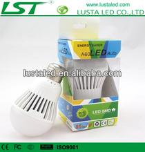 3W Cost Effective,E27/E26/B22 ,Flame Retardant Plastic, Excellent Heat Dissipation, led lamp bulb