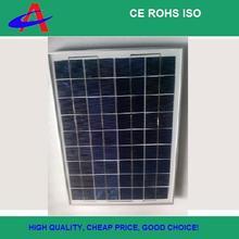 hot sale!20W poly solar panel 18V 4*9cells aluminium frame