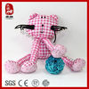 wholesale clothed animals long leg animal gift for baby cloth cat toy