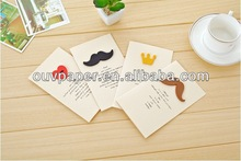 2014 Factory Supplies Chinese Greeting Card