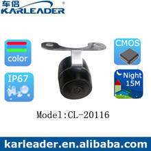 Mount the camera to license plate area 420 TV lines DC 12V vehicle camera china supplier