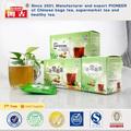 Tres hojas de té Anti estreñimiento hierbas medicinales chinas hierbas para la venta 4 té de hierbas