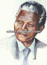 Stunning quality handmade Mandela drawing portraits