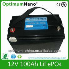 12V 100AH LFP batteries
