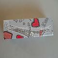 Aşk kağıt kalem kutusu ch-xj6013