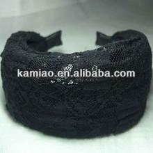 2014 hair accessory wedding lace make up headband