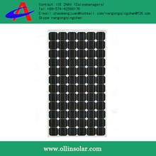GOOD SALE! low price oem products, popular 180 watt solar power plates