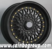 Hot Sale Replica Alloy Wheel For BBS RS Matt Black
