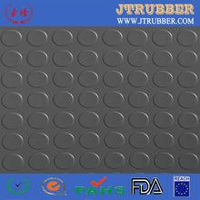 Shock absorbing floor mats rubber