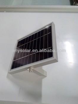 Solar Panel 10 Watt 12 Volt for Small Devices RV Off Grid LED