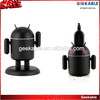Christmas gift Android Robot wall charger,cylinder package capacity true1A home charger