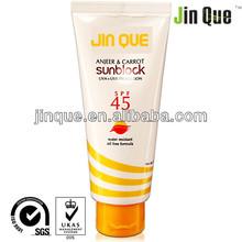 natural sun lotion sunscreen