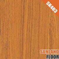 laminate wood flooring SK483 russia oak wood flooring smoked oak wood flooring Made in changzhou