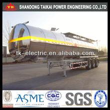 aluminum tank truck / Alloy Fuel Tanker truck 45cbm ( 45000L ) (Cylindrical-Type Tank)