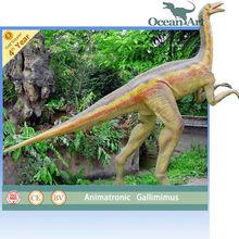 Amusement park show, robotic dinosaur model, please feel free to visit