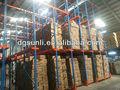 Industriellen metallregale, Laufwerk im palettenregal System