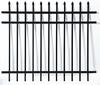 Spear top 3 rails-Aluminium fence, aluminum railings