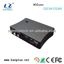 HDML hdd media player 1080p with tv recorder