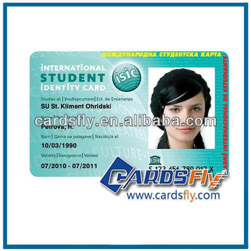 boş öğrenci kimlik kartı