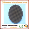 wave car polishing pad/car buffing sponge pads