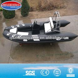 CE! 2013 the newest rigid hull fiberglass inflatable boat