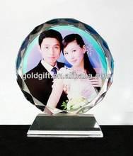 Top grade promotional crystal wedding gift pineapple fruit