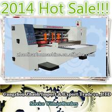 2014 hot sale die cutting machine paper,corrugated box die cut machine