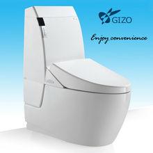 ceramic toilet automatic flush toilet