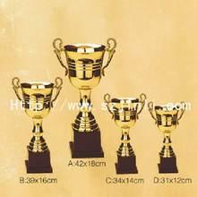 Designer modern perpetual metal trophy bronze