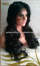 Custom Top Quality full lace wig super wave Cheap Lace