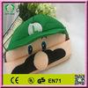 HI EN71 top sale super mario bros hat yoshi hat plush toys