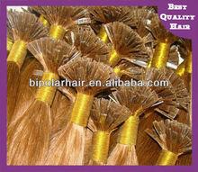 100 keratin fusion bonds flat tip hair extensions