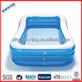 Mejor venta de la piscina inflable eco- amigo del pvc mejor venta de adultos inflables piscina de natación de diferente tamaño y el estilo personalizado