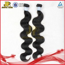 JP Hair Shedding Free Indian Machine Made Human Hair Extensions/Wefts