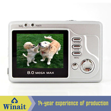 "Cheap small digital camera 2""TFT LCD 1.3 Mega pixel CMOS 4X digital zoom"