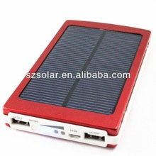 X1009 10000mAh dual USB solar panel phone charger