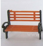 1:50 Y50-01 scale park chair . chair scale model / model materials