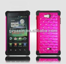 Custom fashion 2014 silicone case for lg optimus ms870 one