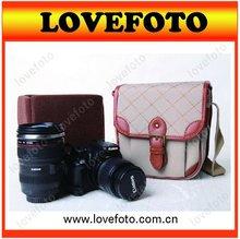 Leather/Canvas DSLR Camera Bag for girls/boy