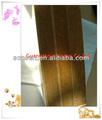 ranura mdf laminado paneles de fibra de madera de grano de madera tablero de mdf