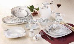 Top quality ceramic light weight dinner set