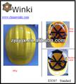 Abs construção use capacete en397 certificado, disponível para os lotes de cor