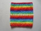 "10"" Big Size Baby Crochet Waffle Headband"
