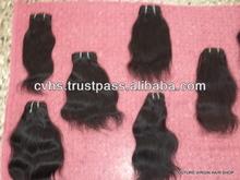 100% Real Human Virgin Indian Hair 2014 promotions